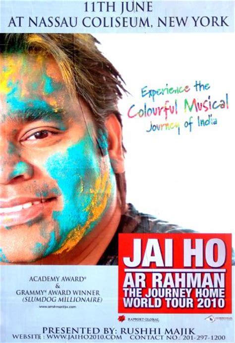 download mp3 song jai ho ar rahman a r rahman jai ho journey home world tour original