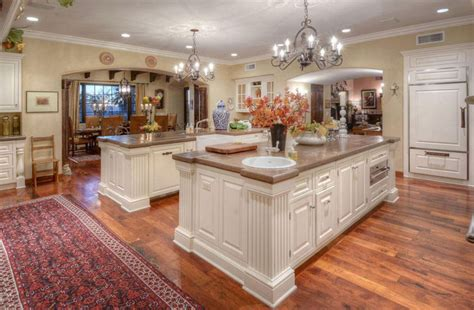 two kitchen islands kitchen with two islands home design