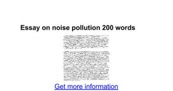 Noise Pollution Essay by Noise Pollution Essay Noise Pollution Noise Pollution Effects Causes And Solutions Of Noise