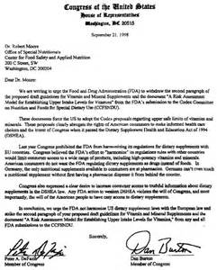 letter format congress 3