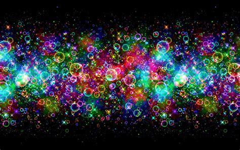 wallpaper gambar cahaya lingkaran abstrak cantik