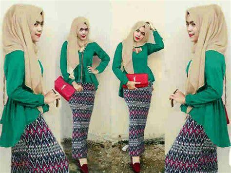 Wanita Busana Pakaian Baju Setelan Broklyn 76 Murah baju muslim setelan skirt 3 in 1model terbaru murah