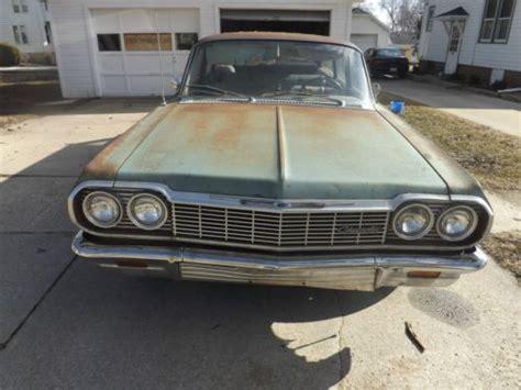 1964 impala wagon parts sell used 1964 chevy bel air wagon barn find rat rod