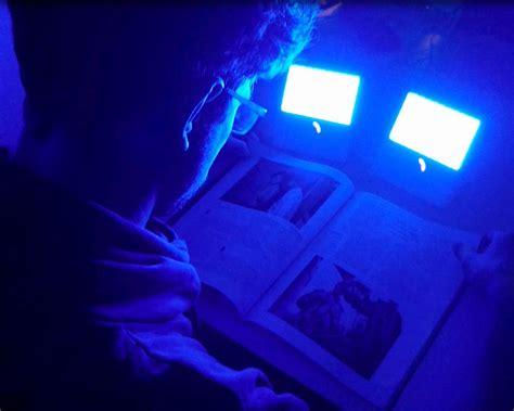 light blue blood blue light exposure may help lower blood pressure study