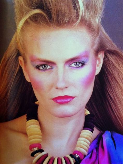 hair and makeup of the 80 s 80s makeup my favourite 80 s glamour shots pinterest