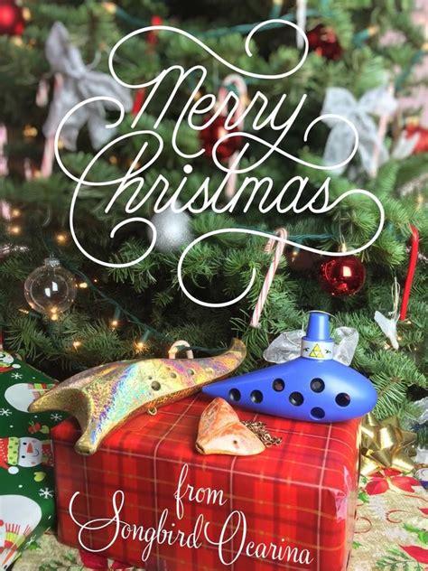 merry christmas  happy holidays   songbird family holiday christmas ornaments