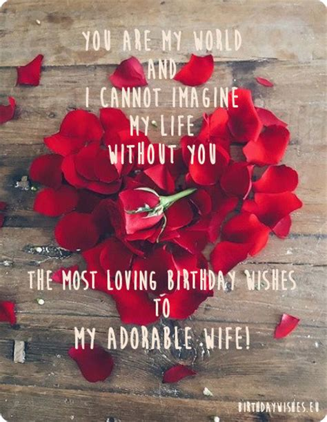 Happy Birthday Wishes For Loving Top 30 Romantic Happy Birthday Wishes For Wife