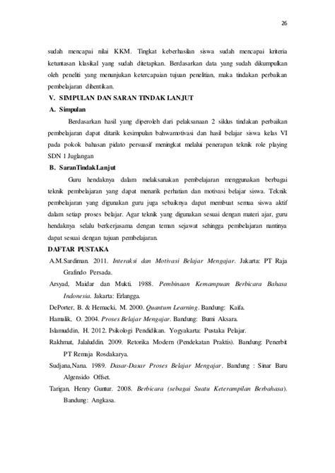 Belajar Mudah Penelitian Untuk Guru Karyawan Dan Peneliti Pemula 1 peningkatan motivasi dan hasil belajar bahasa indonesia