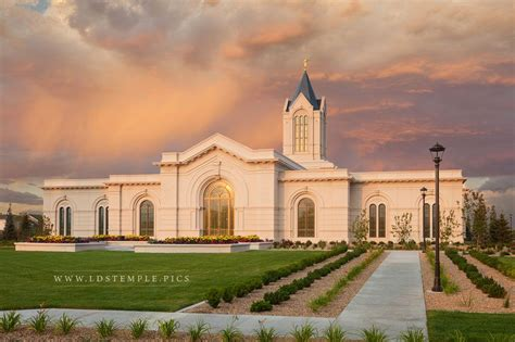 the light center fort collins fort collins temple sunset lds temple pictures