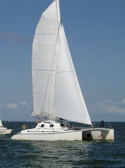 catamaran orange 2 a vendre erik lerouge