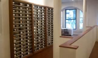 contemporary metal wine racks building wine cellars with joseph amp curtis