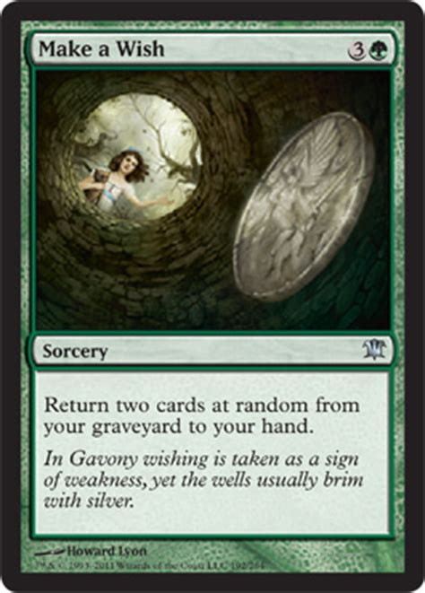 make mtg cards make a wish from innistrad spoiler