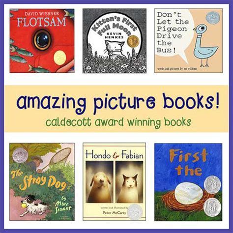Caldecott Award Winners Must See Picture Books For