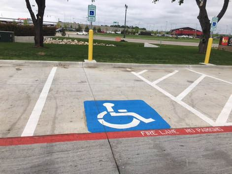 parking lot striping san antonio pavement markings in