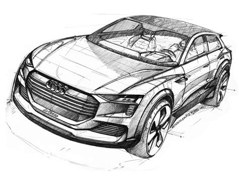 Auto Sketch by Transportation Exterior Sketches On Car