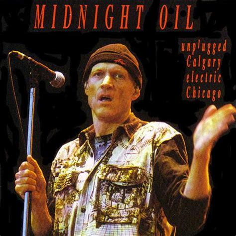 midnight oil unplugged calgary electric chicago (cd) at