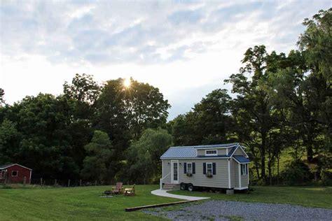 tiny house bnb tiny home on the farm lancaster farm bed breakfast