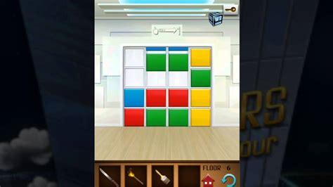 100 Floors Level 5 Solutions - 100 floors annex level 6 walkthrough solution guide