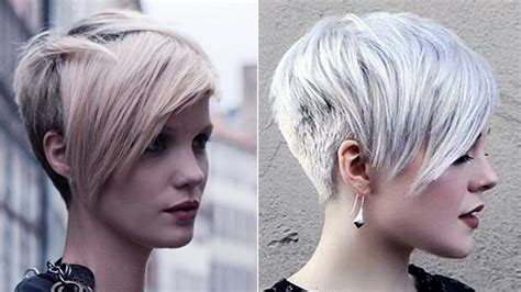 short hairstyles with bangs youtube pixie with long bangs short pixie haircut short hair