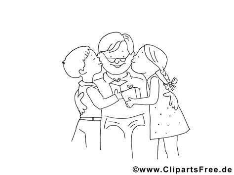 opa mit enkelkindern malvorlage kostenlos