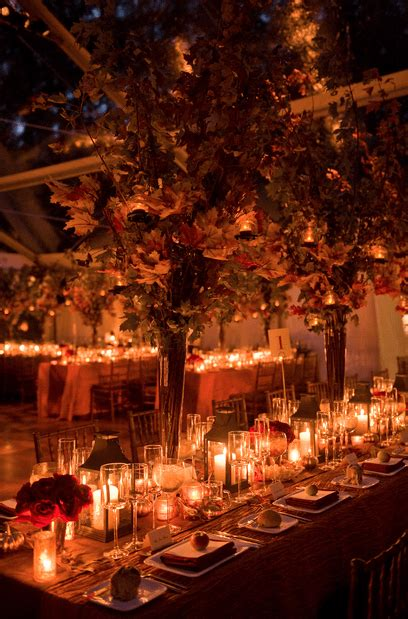 beautiful fall wedding table decor ideas