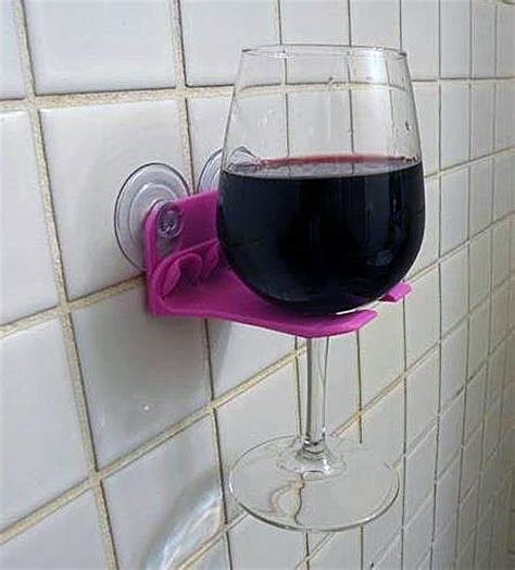 bathtub wine glass holder the new bathroom wine holder