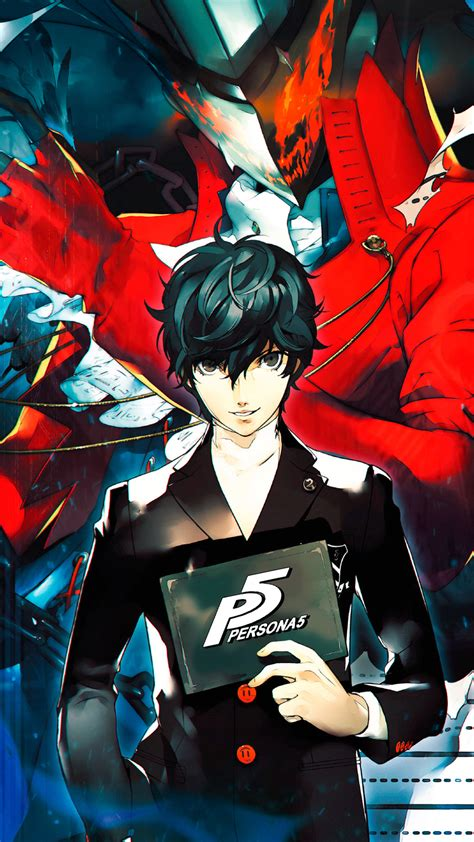 anyone got iphone wallpapers persona5