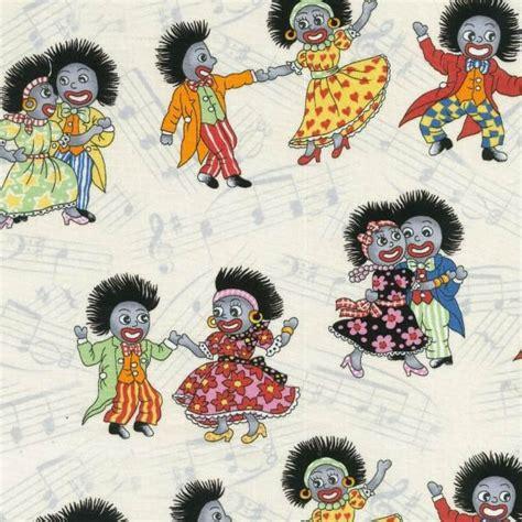 Pattern For Fabric Golliwog   golliwog golly gollywog doll boy girl dancing music quilt