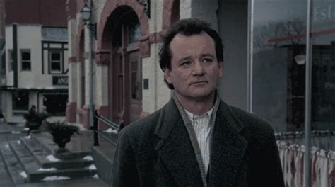 groundhog day toaster gif bill murray gif find on giphy