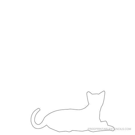 Cat Stencil Printable