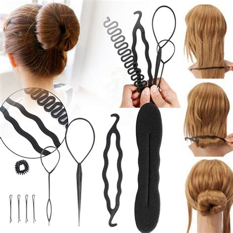 Hairstyles Accessories Bun Tool by 9pcs Hair Twist Styling Clip Stick Bun Maker Braid