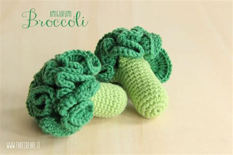 amigurumi vegetables pattern verdure amigurumi i broccoli a uncinetto amigurumi all