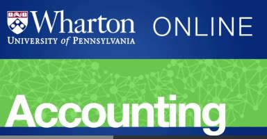Wharton Coursera Mba by Accounting Literate Consultant S Mind