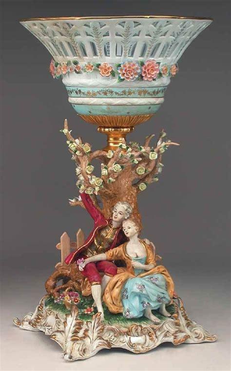 Le Vintage 1201 by 1201 Monumental Porcelain Centerpiece On Porcelana Y