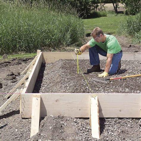 pour  concrete slab successfully  tips