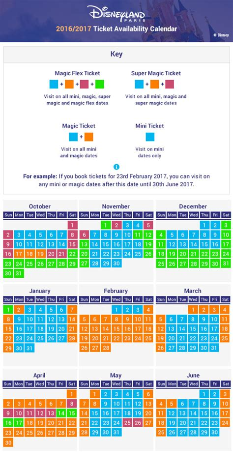 Disneyland Busy Calendar Buy Cheap Disneyland Tickets Attractiontix