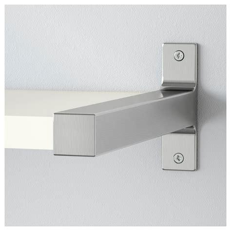 etagere edelstahl ekby j 196 rpen ekby bj 196 rnum wall shelf white aluminium 79x19