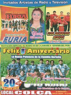 huayno del peru 2015: orquesta miramar los mecanicos de la