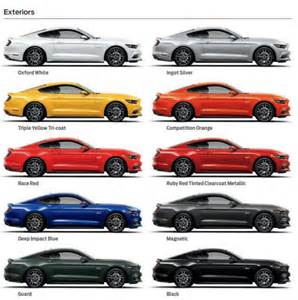 2014 mustang colors image gallery 2014 mustang colors