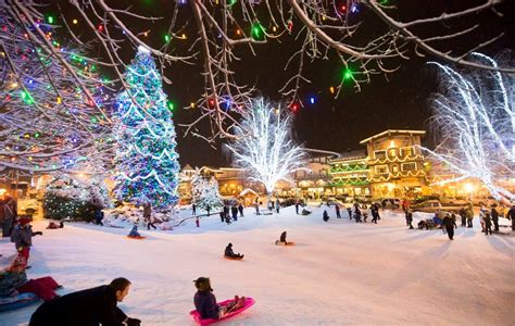 leavenworth christmas tree lighting getaway the seattle