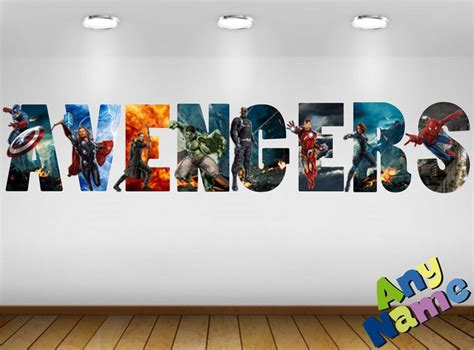 marvel s the avengers wall sticker decals for kids room 24 best images about mi casa on pinterest old world