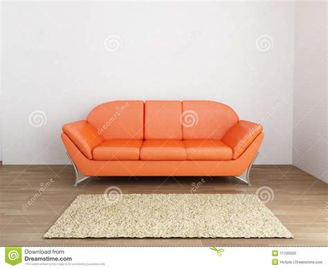 face couch couch to face a blank wall stock photo image 11705020