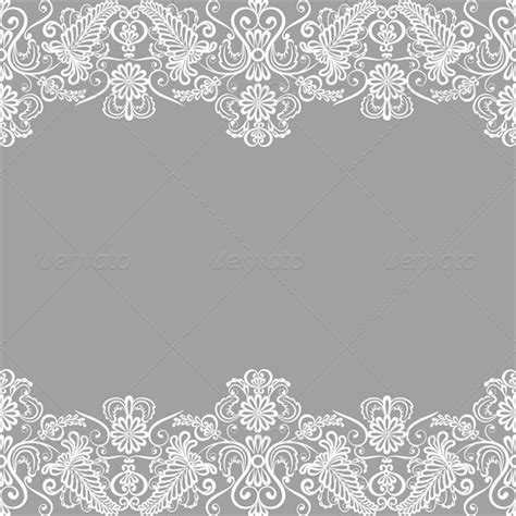 lace templates for photoshop wedding invitation or greeting card with lace bord