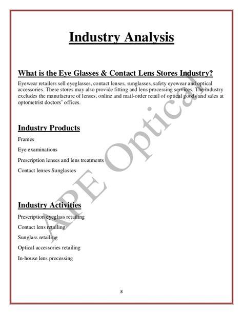 market analysis template business plan business plan