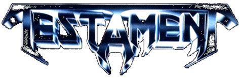 logo testament metal musick just another weblog