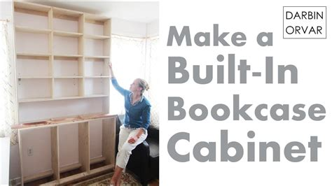 built  bookcases cabinet construction youtube