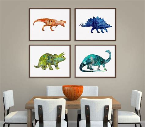 wall decor for boys 25 best ideas about dinosaur room on