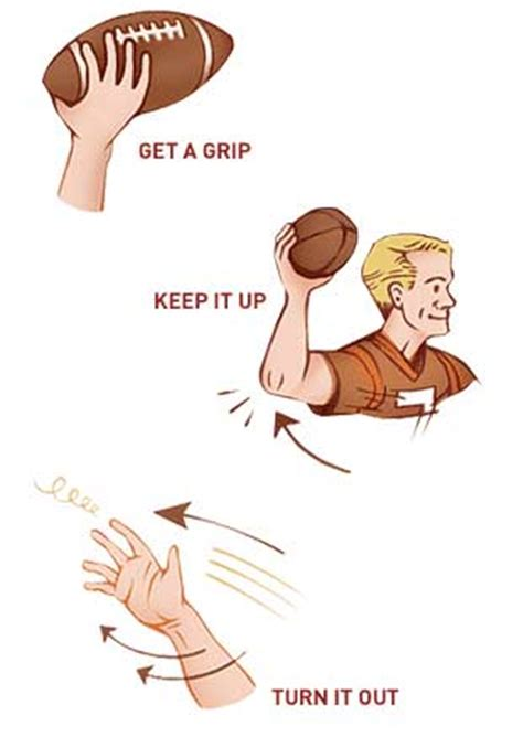 how to throw a how to throw the football spiral get real guide