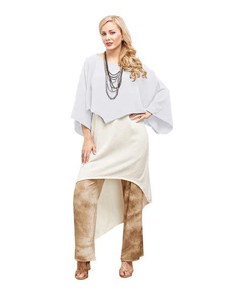 Vannia Blouse oh my gauze vanna blouse tunic top 100 cotton lagenlook poucho ebay