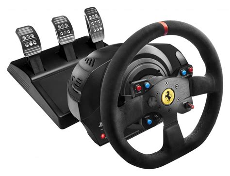 volanti per pc thrustmaster vg t300 alcantara edition racing